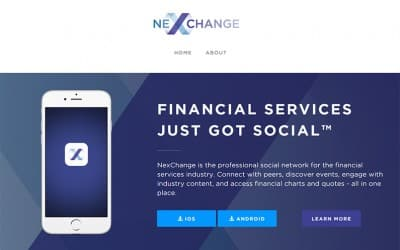 NexChange – Social Network for Finance Professionals
