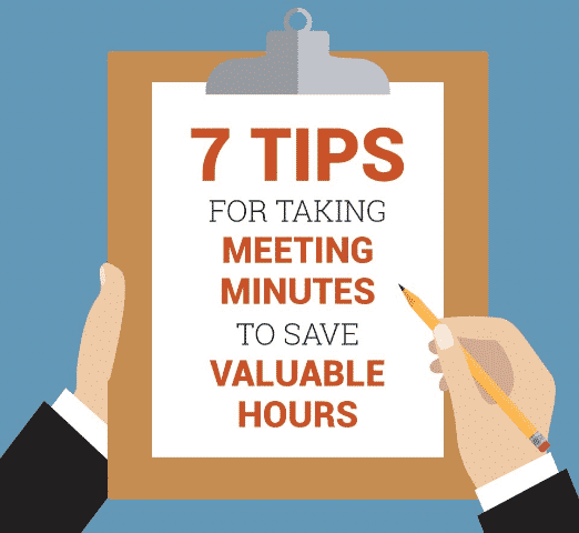 7 Tips For Taking Meeting Minutes