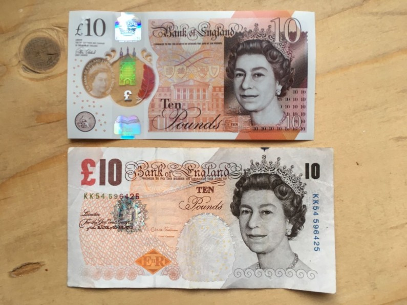 How Quickly Can You Spend a Tenner: Old £10 Note Deadline Approaches