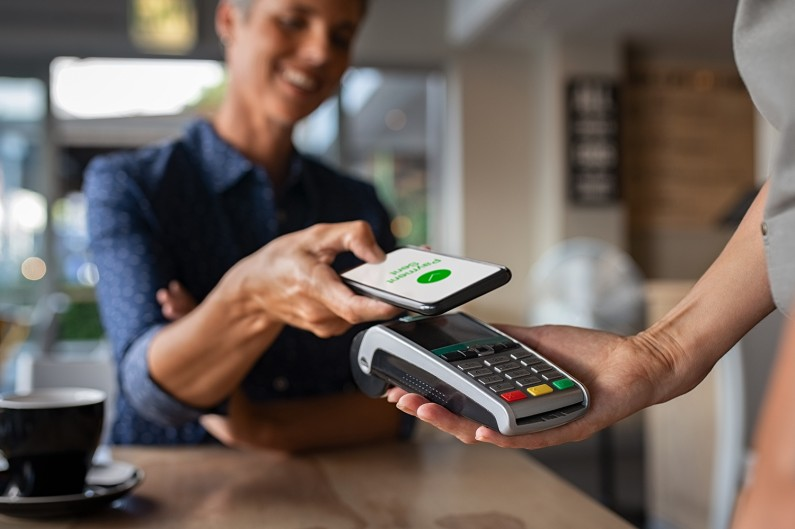 Contactless Payment with mobile phone
